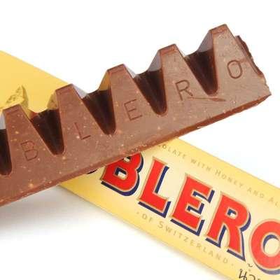 瑞士三角TOBLERONE 瑞士三角牛奶巧克力含蜂蜜及巴旦木糖100g