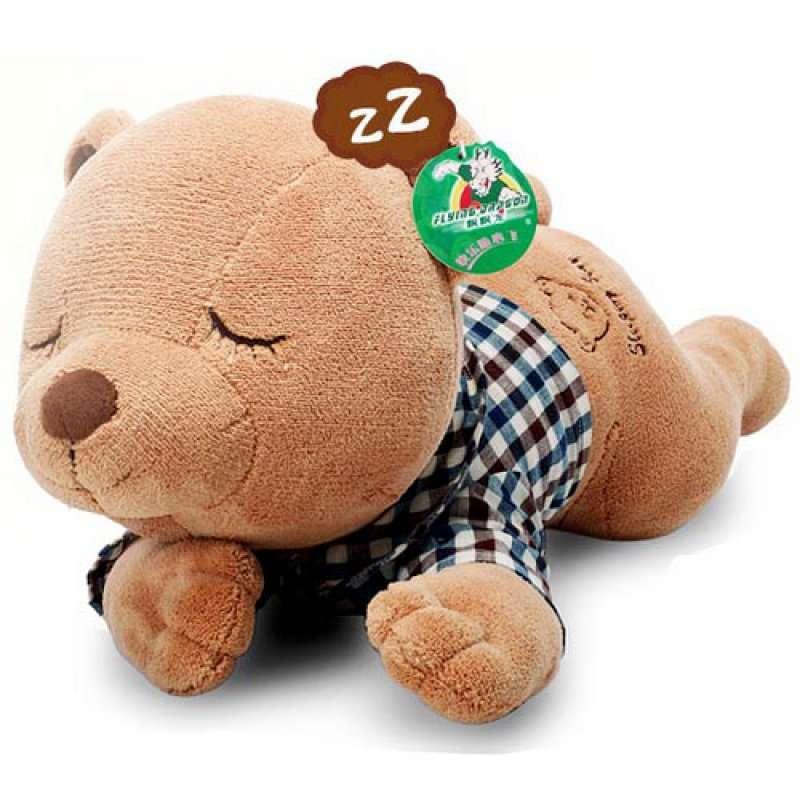 飘飘龙毛绒玩具轻松调调可爱瞌睡熊(甜蜜瞌睡熊)