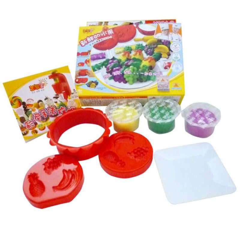 艺智宝彩泥主题玩具套装-新鲜的水果(菠萝与香蕉)91044-2 (商品编号