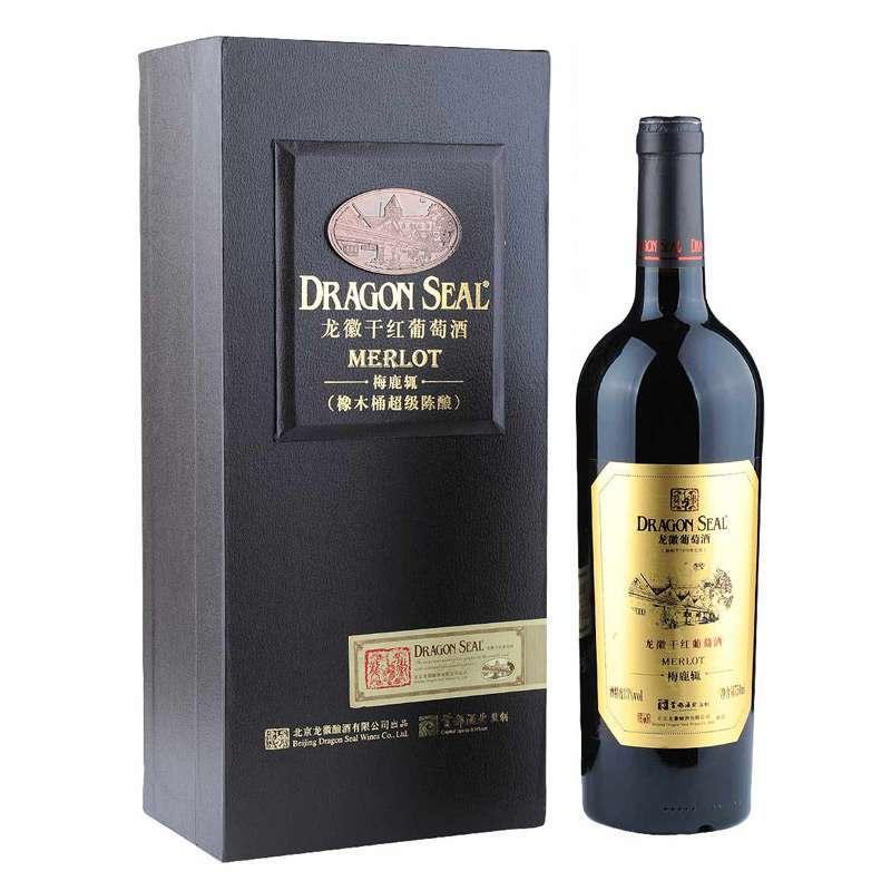 龙徽干红葡萄酒梅鹿辄干红(橡木桶超级陈酿)图片