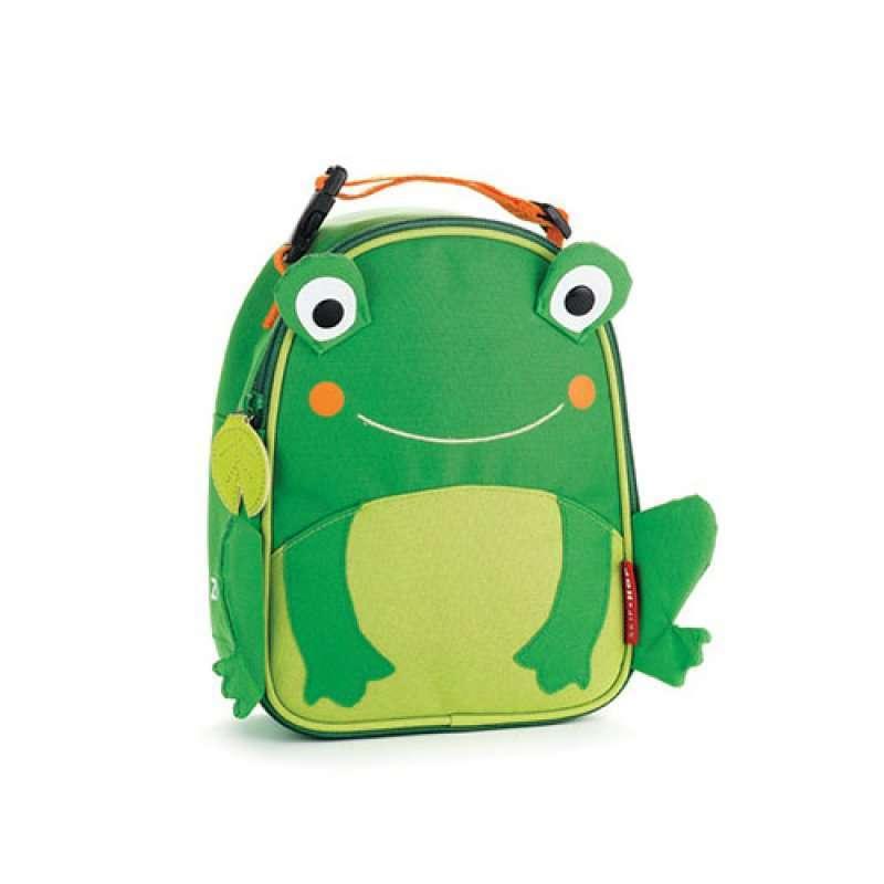 (美国直邮)skiphop动物造型餐包青蛙款