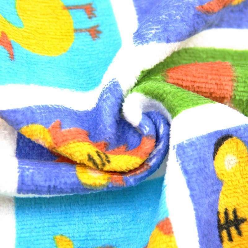 金号赤金t1168动物世界童巾(4条装)