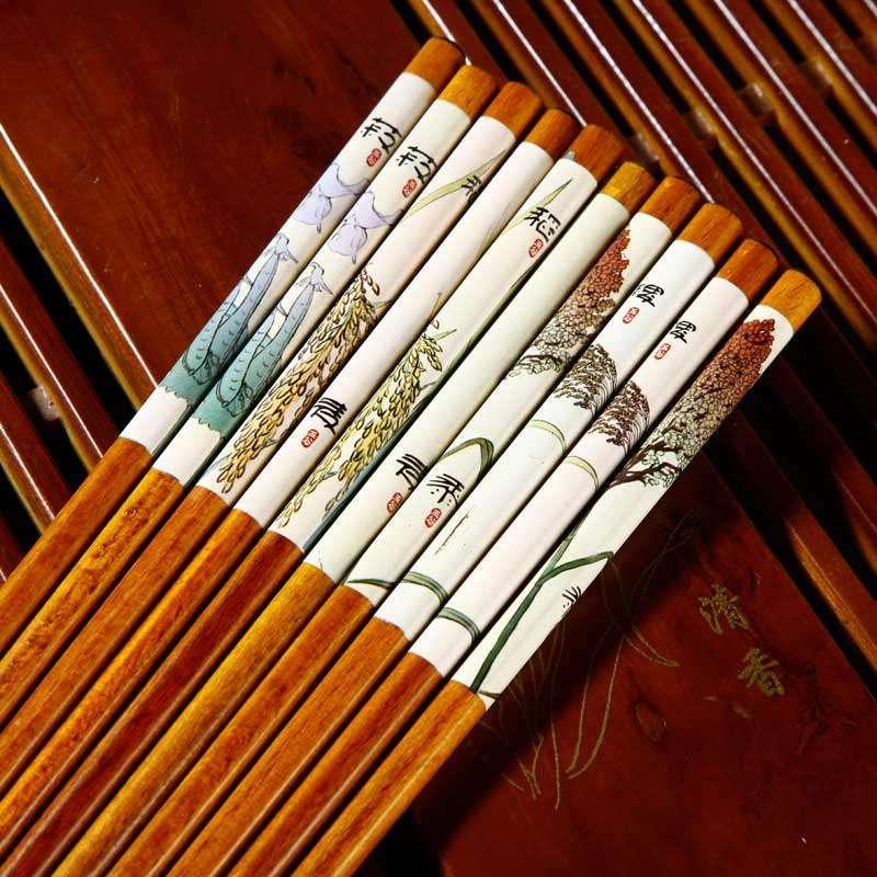 简单木筷手工制作房子
