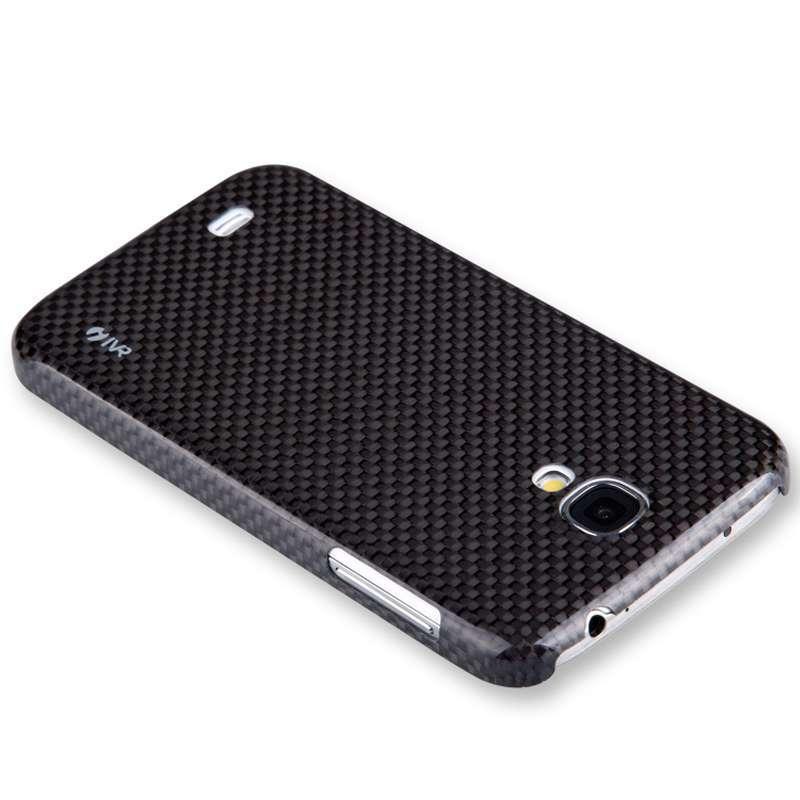 ivr 卫尔 三星9500 轻盾系列碳纤维手机保护壳 黑色