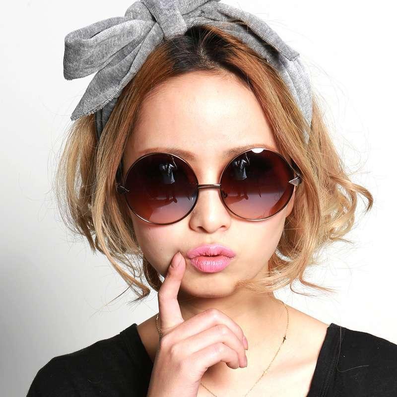 inmix女款墨镜欧美复古眼镜 1159 咖啡色
