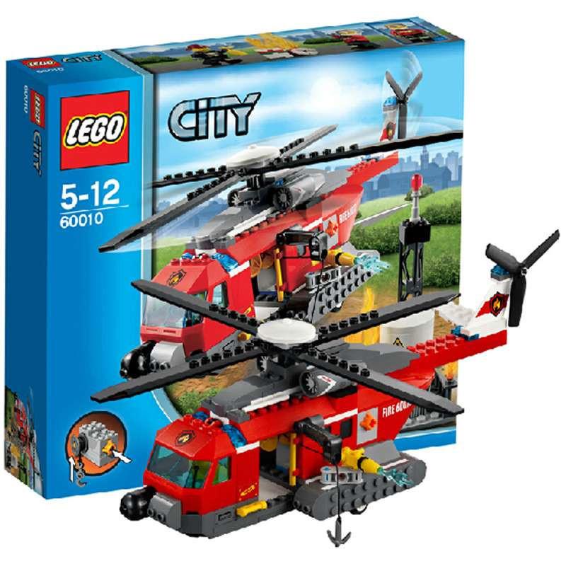 乐高 消防直升机 l60010图片