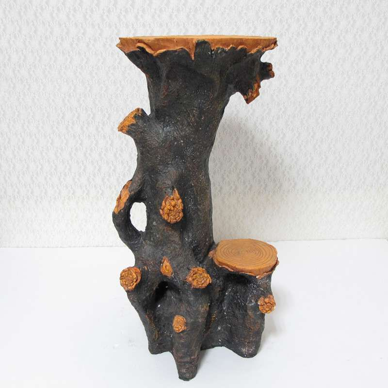 icalife 仿树根底座装饰品家居摆件 流水喷泉工艺品装饰底座9510
