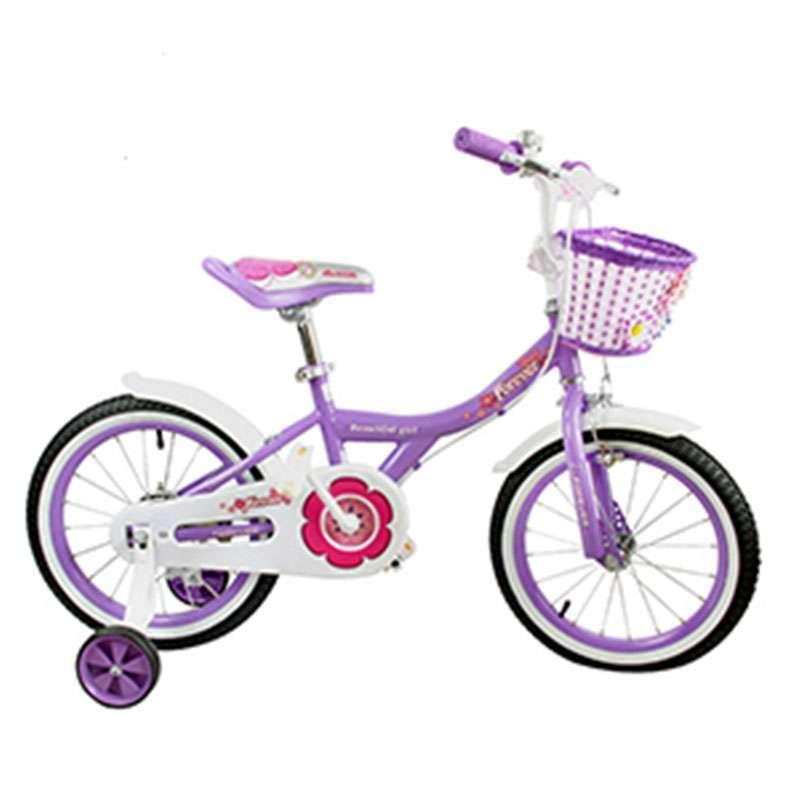 永久 儿童自行车漂亮宝贝14寸紫色