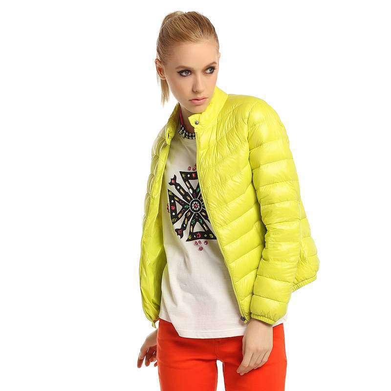 2013新款雪中飞羽绒服女柠檬轻薄时尚飞羽绒x1301012l嫩柳绿m铝立领榨汁器图片