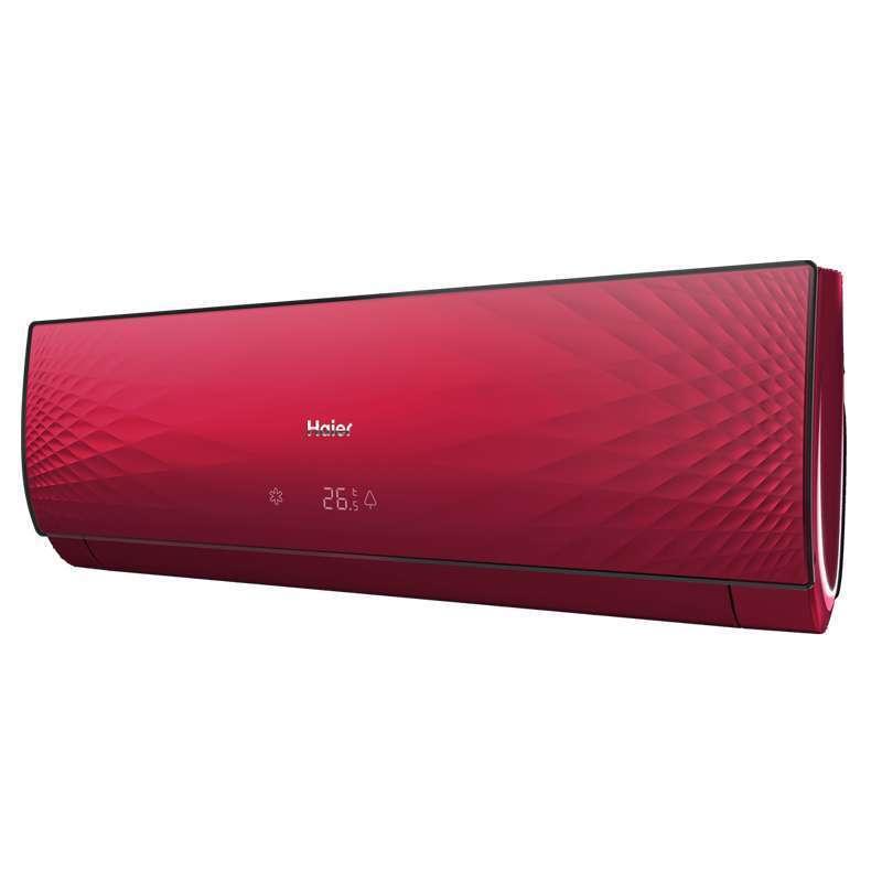 海尔(haier) kfr-26gw/10cca22a(红)套机 1匹 挂壁式冷暖变频空调