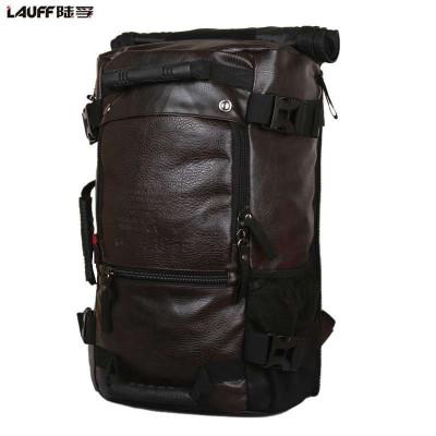 时尚个性男士多功能双肩背包手提包旅行