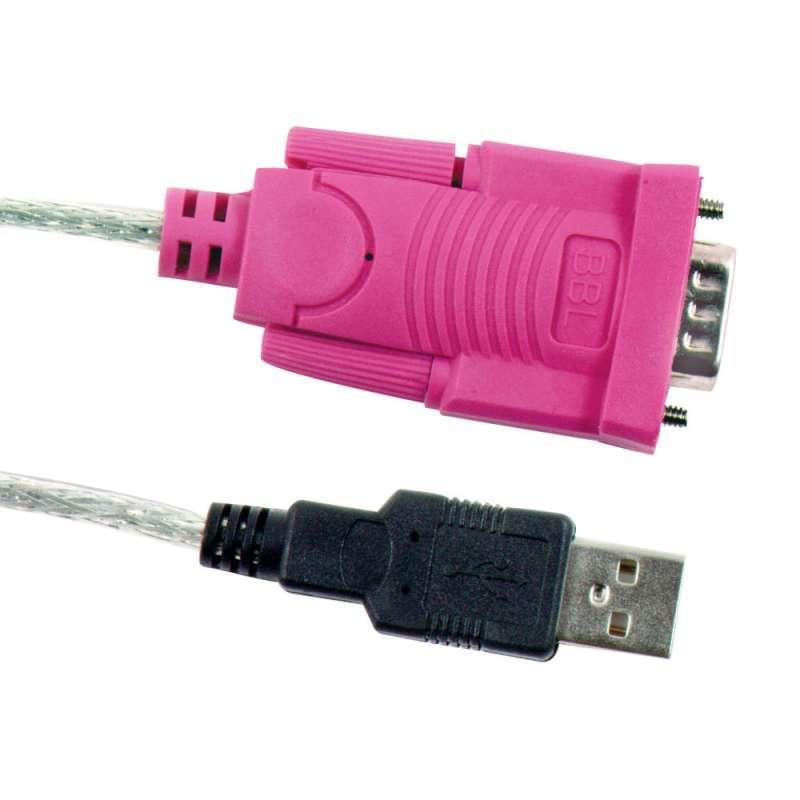 usb串口转接线 9针串口转usb-rs232com口usb转r