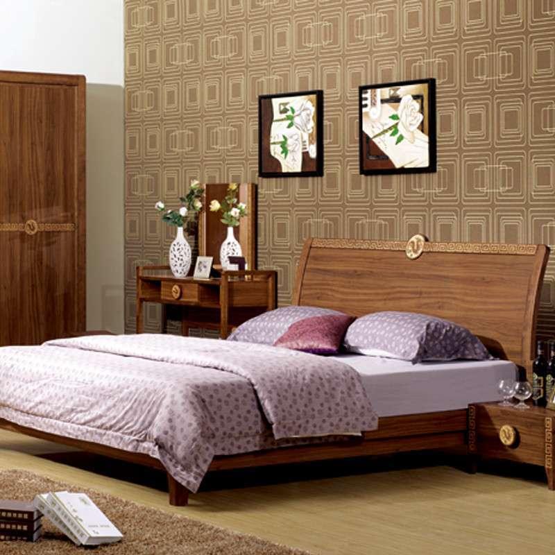 8 木板床 中式家具1.5*1.9 smc012