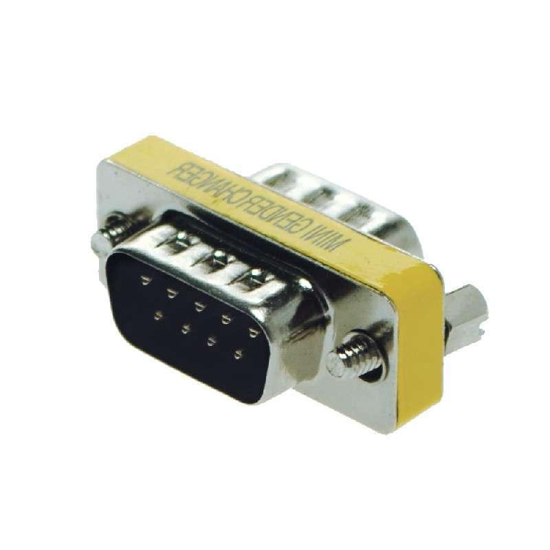 a-6900 rs232 9针串口转接头公对公