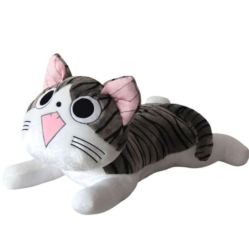可兰薇 起司猫公仔 肯德基小奇猫公仔 眯眼猫咪公仔 瞌睡猫 布娃娃图片