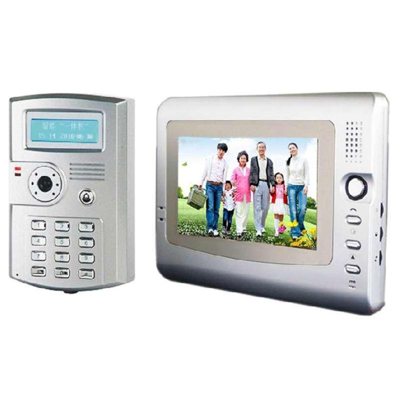 有线可视对讲门铃/家用带刷卡开锁一拖一/门铃电话机