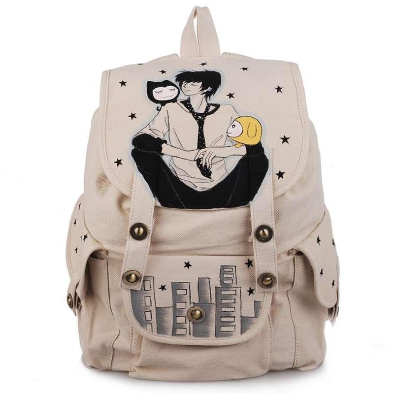 出行必备男女款旅行双肩包超大容量可装平板电脑iqad零食便携式背包图片