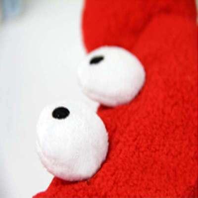 伊品堂 螃蟹系列 可爱 卡通 动物 usb暖手鼠标垫 (红色)