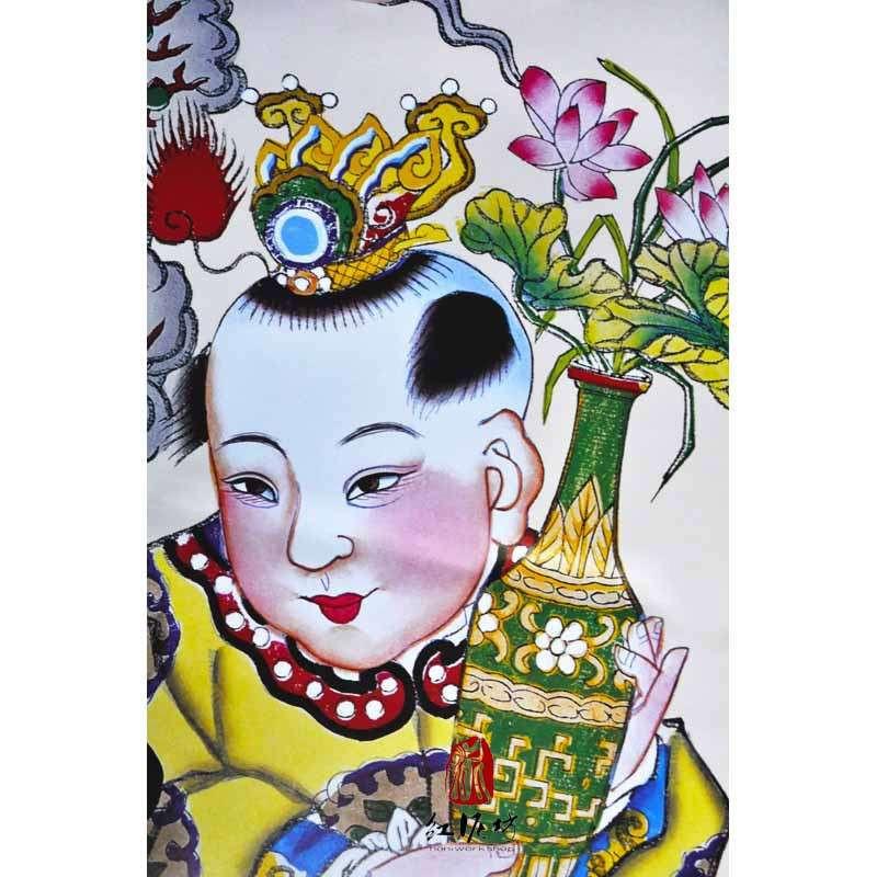 中国梦杨柳青年画分享展示
