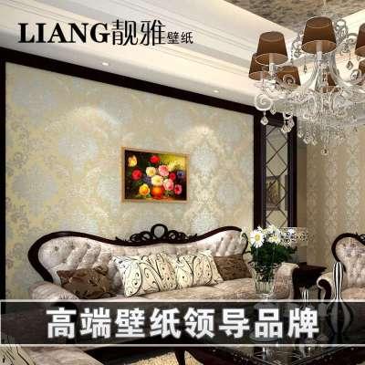 无纺布卧室温馨客厅欧式壁纸ab版-苏宁电器网上商城