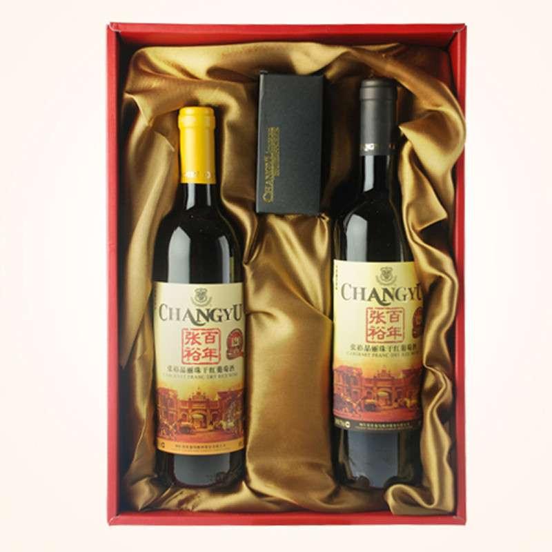【张裕】红酒 张裕品丽珠干红葡萄酒礼盒50002236