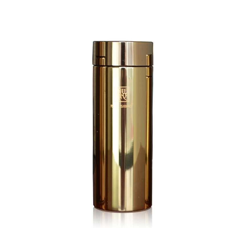 双层真空不锈钢保温杯 赤子之心高档带茶隔茶杯水杯(容量:260ml.