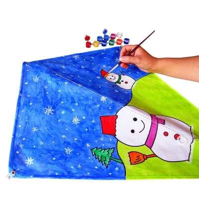 幼儿自制风筝步骤