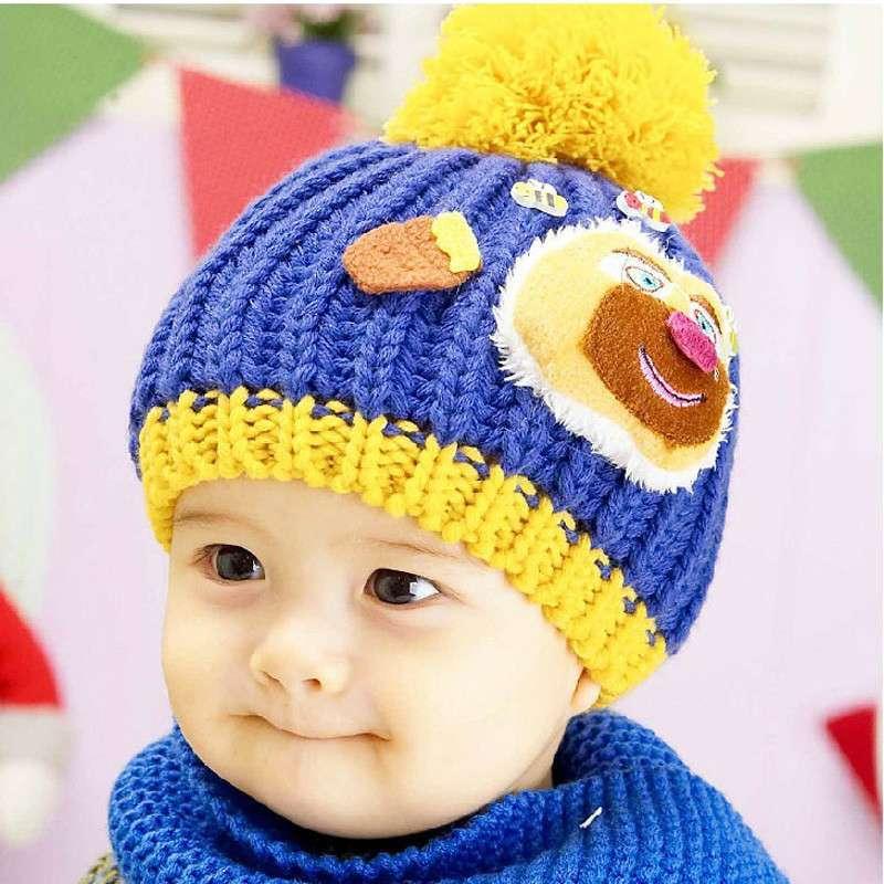 童帽子编织花样