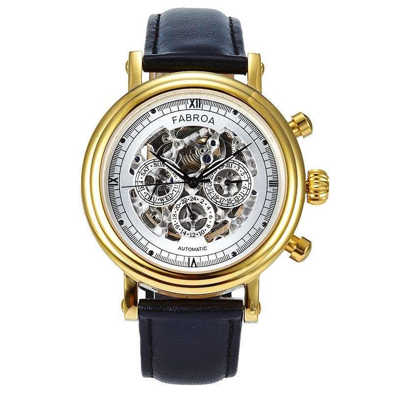 暗扣皮带手表