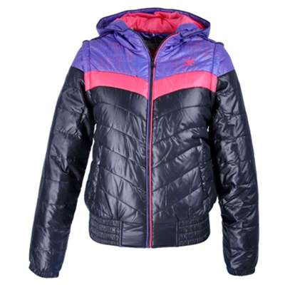 正品冬季女士连帽时尚休闲保暖加厚棉衣外套
