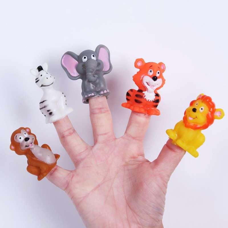 大贸商(dms)儿童 卡通可爱动物手偶 指偶 手指偶 玩具