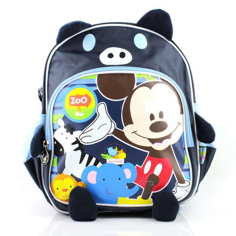 迪士尼儿童幼儿宝宝小书包可爱韩版双肩背包 蓝色