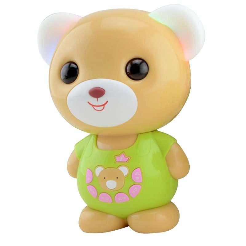 波比熊儿童故事机(绿色)图片