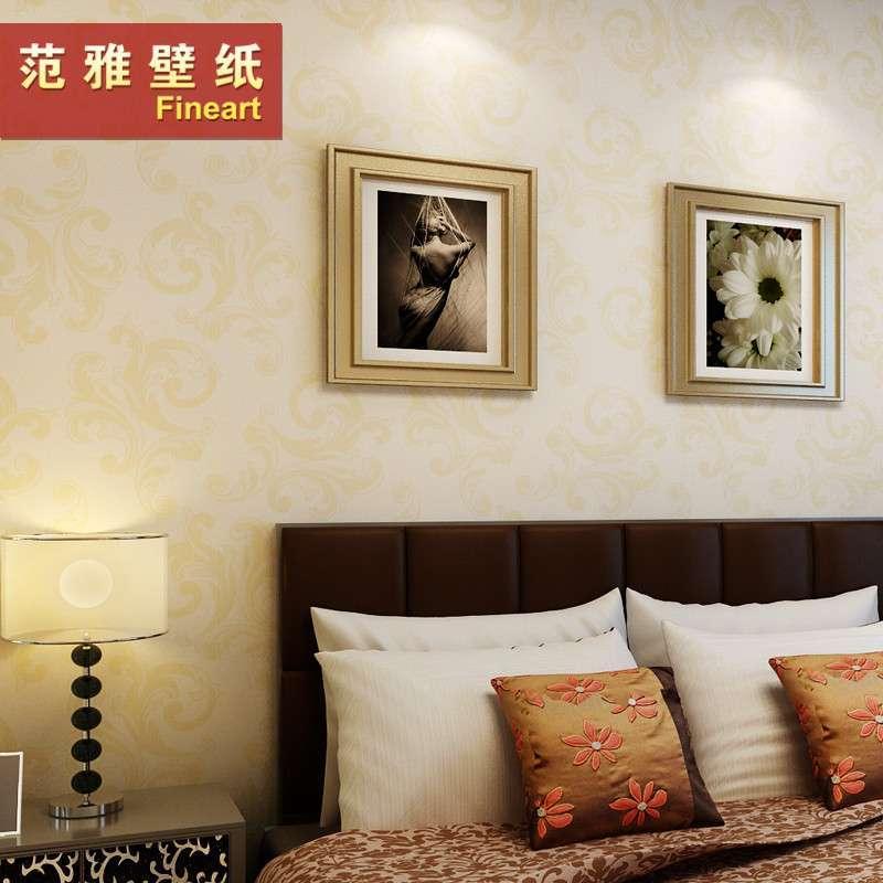 【范雅壁纸】范雅壁纸无纺纸壁纸卧室客厅电视背景
