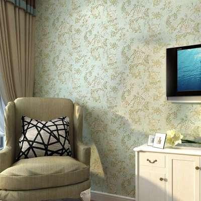 欧式复古田园风格x80204无纺布客厅