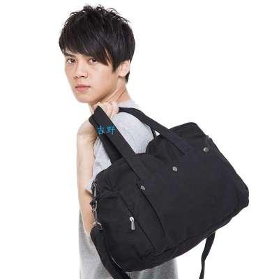 男士运动手提包单肩斜跨包学生书包旅行包行李包318