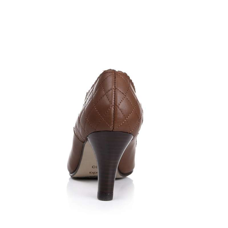 senda/森达2013年秋季小牛皮女皮鞋4bb21cm3 棕色 39码