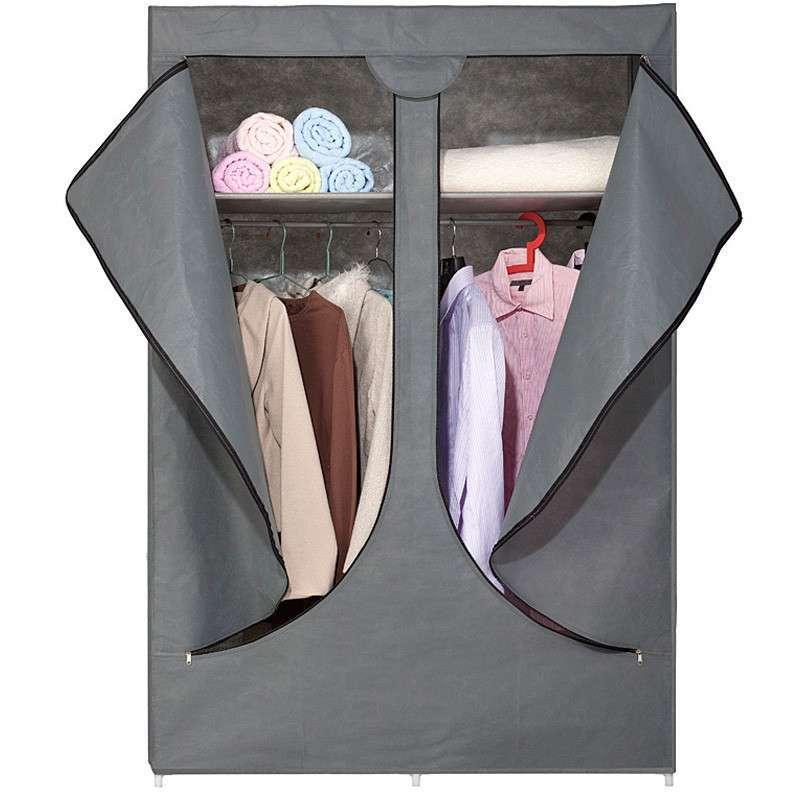 三拉链布衣柜安装步骤图