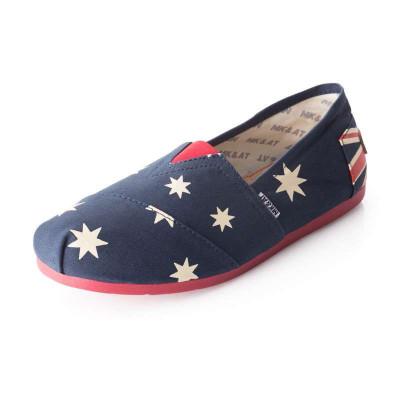 新西兰国旗系列帆布鞋
