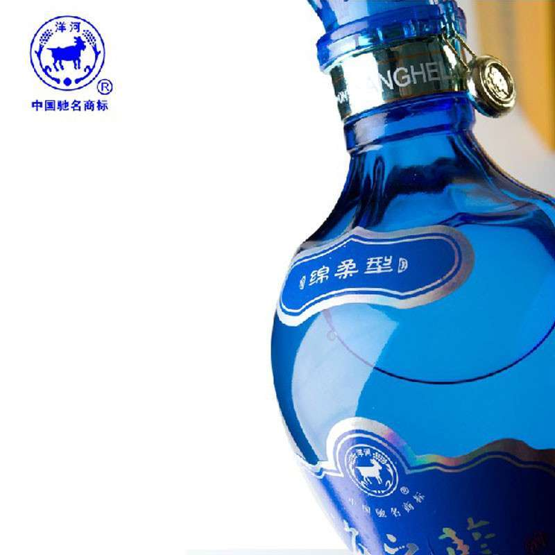 洋河 蓝色经典 海之蓝 46度 480ml 绵柔型白酒