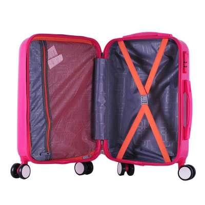 包行李箱登机箱子万向轮男女潮20寸24寸28寸 玫红28寸【飞机大轮顶配