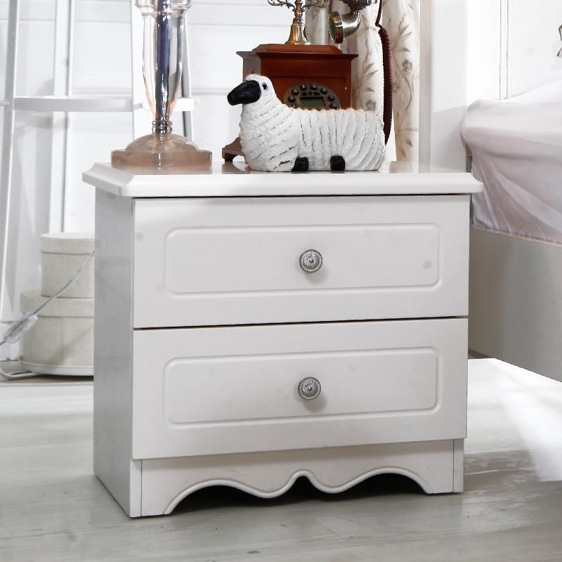 双虎家私 卧室五件套 板式床 床头柜 衣柜 家具组合套装13m003 1.