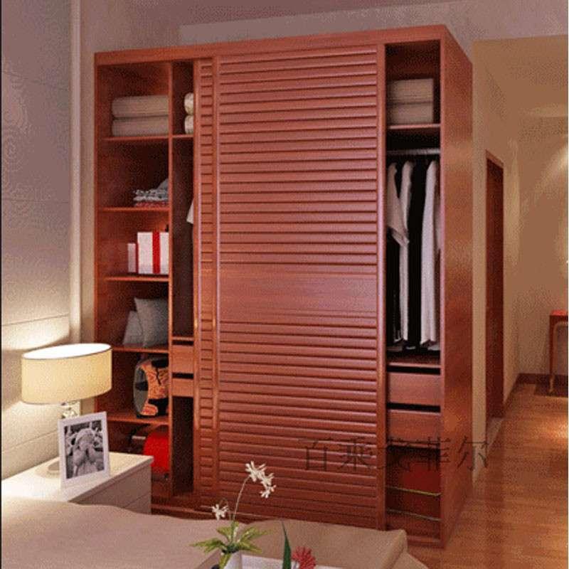 【百乘家具】百乘 卧室整体衣柜 移门衣柜定制 推拉门