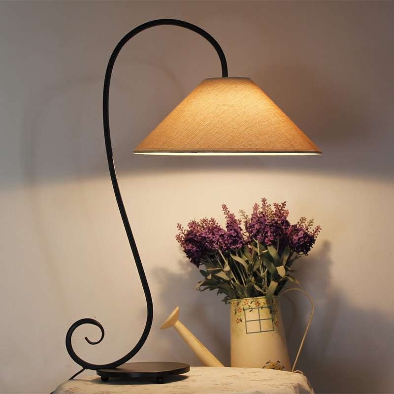 北欧美式宜家简约装饰台灯床头台灯卧室台灯客厅台灯