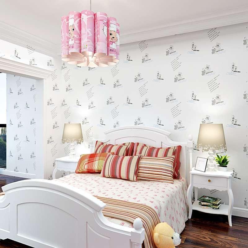 溫馨小熊 s3814無紡布墻紙臥室背景壁紙