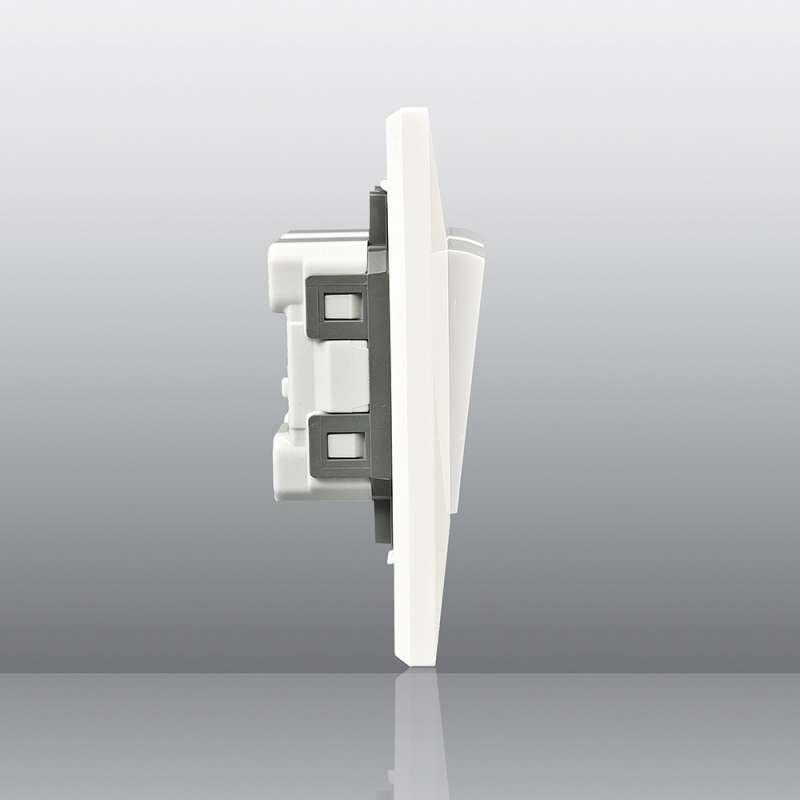 松下开关插座正品墙壁开关面板86型新适佳二开双控双联双控开关插座