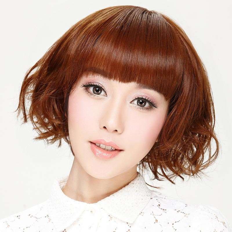 女星短发烫发造型分享展示图片