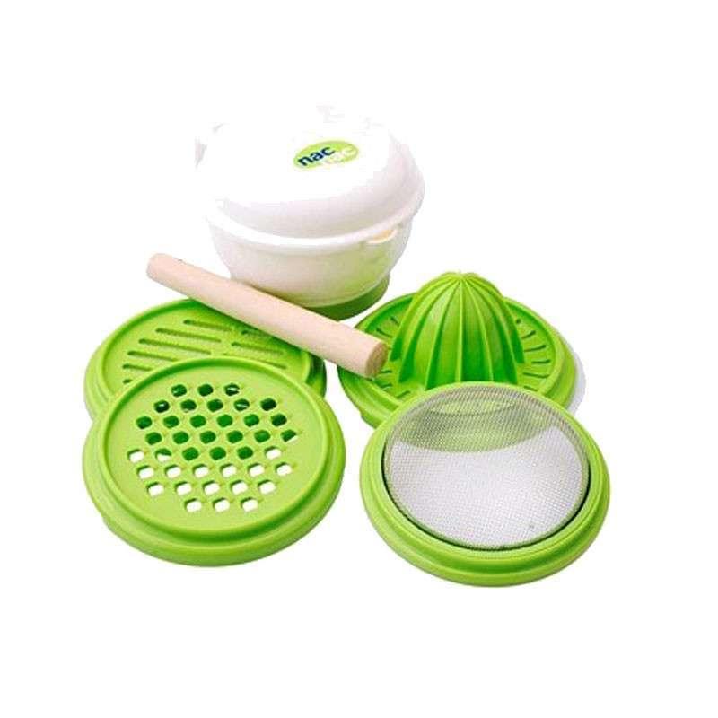 宝贝可爱 食物料理器组合 婴儿辅食研磨器 宝宝食物调理器组礼盒 2320