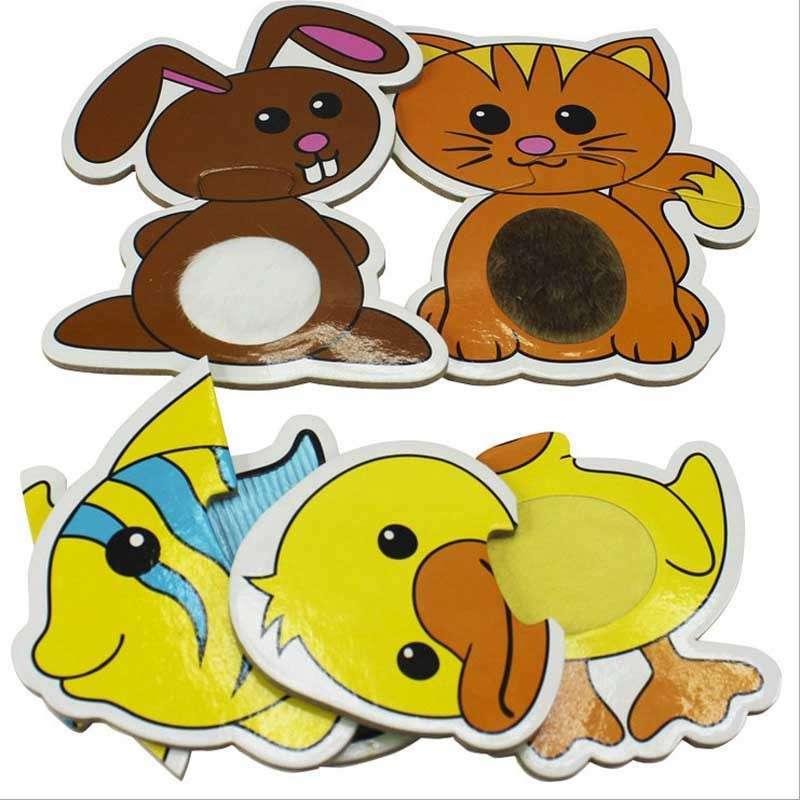 正品diy拼图 7190动物游戏 幼儿园礼品 儿童益智玩具 送礼佳品