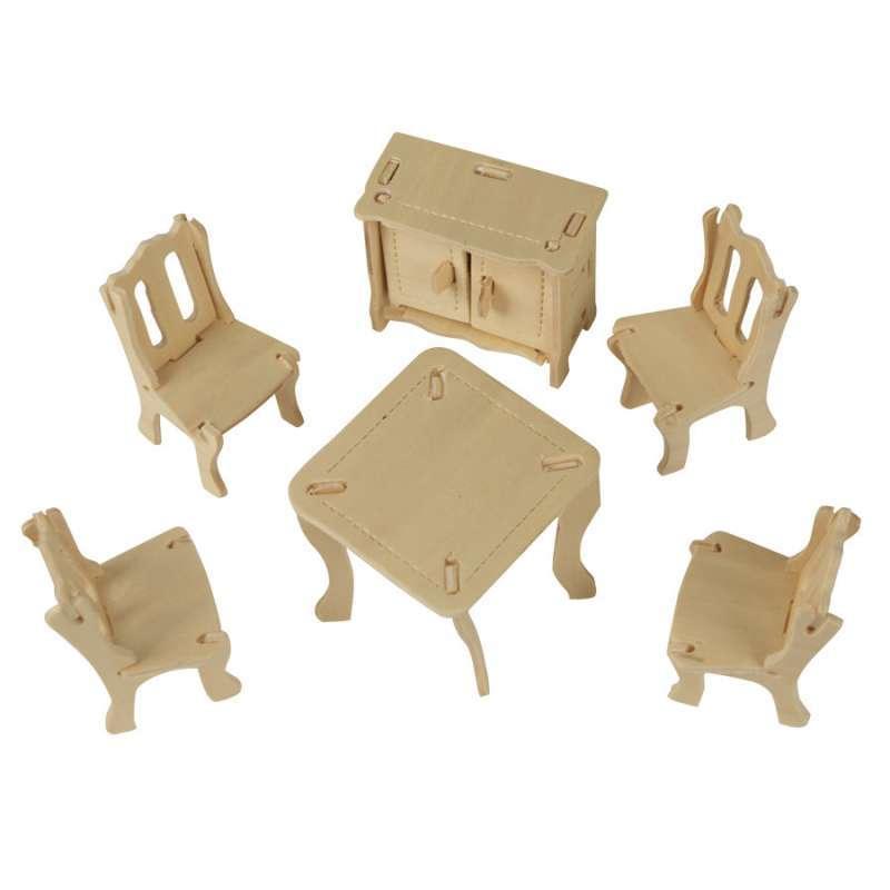 大贸商 3d立体木质拼图 儿童益智玩具拼装玩具木制拼图模型 ef01490o